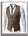 MEN - Costume & Blazere ( Amestec Bumbac ) Informal Decolteu În V - Fără mâneci