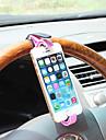 shunwei® universal auto telefoanelor mobile montare titular pe direcție volan consolă pentru roata de soclu telefon