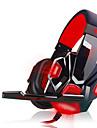 plextone pc780 casque filaire lumineux bandeau avec micro contrôle du volume de jeu anti-bruit
