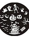 Abstrakt/Vackert/Punk/Bröllop - Finger/Tå/Andra Metall - 1 - styck 6*6*0.1 - cm