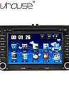 "7 ""2 DIN touch screen lcd bil dvd-afspiller til Volkswagen med can-bus, bluetooth, gps, ipod-input, rds, radio, ATV"
