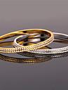 U7 söta armband armband 18k äkta guld platina swa rhinestone mode smycken för kvinnor av hög kvalitet