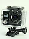 est SJ6000 Caméra d'action / Caméra sport 12MP 1920 x 1080 Wi-Fi / Etanches / Anti-Chocs / Détection de sourire 4X 2 CMOS 32 Go H.264 50 M