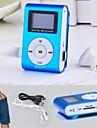 8g mp3 écran lcd mini-lettore clip usb lecteur radio rechargeable