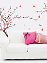 väggdekorationer Väggdekaler, blomstrande plommon blossom pvc vägg klistermärken