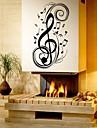 Musik Mode Former Väggklistermärken Väggstickers Flygplan Dekrativa Väggstickers Material Kan tas bort Hem-dekoration vägg~~POS=TRUNC