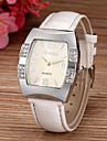 pentru Doamne Ceas La Modă Simulat Diamant Ceas Quartz imitație de diamant PU Bandă Sclipici Alb Albastru Pink Violet RoseAlb Mov