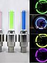 Eclairage de Vélo / bicyclette Éclairage pour roues de vélo Capots de feux clignotants LED - Cyclisme Etanche 50 Lumens Batterie Cyclisme