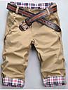 Shorts ( Coton mélangé ) Informel Sans manche
