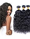 Human Hår vävar Peruanskt hår Vattenvågor 12 månader 3 delar hår väver