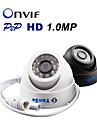 yanse® IP-kamera 720p CCTV-kamera megapixel nätverks CCTV-system ONVIF h.264 1.0mp