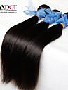 """4st lot 8-28 """"indian raka virgin hår väva buntar naturligt svart härva gratis mjuk remy människohår förlängningar inslag"""