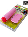 2en1 Nail Art Stamping bricolage Outils de timbre Grattage Knife Set Kit