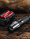 lampe de poche / Lampe torche 2200lm Criee XM-L T6  + 2x18650 batterie + chargeur
