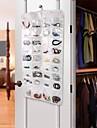 hushåll Essentials 72-pocket hängande smycken och accessoarer arrangör