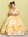 Rochie de mireasa lungime floare fată rochie - taffeta fără mâneci fără umăr cu arcul (i) de lan ting bride®