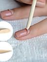 50pcs bois de nail art colle gel uv cuticule pousseur à ongles outils de suppression pédicure manucure