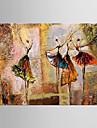 HANDMÅLAD Landskap / Blommig/BotaniskModerna En panel Kanvas Hang målad oljemålning For Hem-dekoration