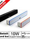 besteye® stereo trådlös Bluetooth effektljud bar högtalare 2,0 hifi bärbara för iphone / Samsung