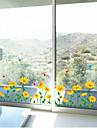 väggdekorationer väggdekaler, solros lister linje pvc väggdekorationer