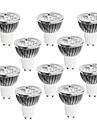 4W GU10 Spot LED 4 LED Haute Puissance 320 lm Blanc Chaud / Blanc Froid / Blanc Naturel Gradable AC 100-240 V 10 pièces