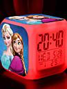 fryst 7 färgförändring digital väckarklocka ledde termometer natt färgstarka glödande leksaker