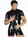 Halloween Costume Wild Boxer Noir PU cuir pour Homme