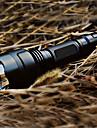 Eclairage Lampes Torches LED Lampes de poche LED 200 Lumens 5 Mode Cree XR-E Q5 18650 Rechargeable Tactique Alliage d'aluminium