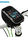 ROSWHEEL® Sac de Vélo 1.5LSac de téléphone portable Sacoche de Guidon de Vélo Multifonctionnel Ecran tactile Sac de Cyclisme PVCSacoche