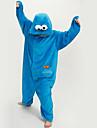 Kigurumi Pyjamas nya Cosplay® / Sesam Leotard/Onesie Halloween Animal Sovplagg Blå Lappverk Polar Fleece Kigurumi UnisexHalloween / Jul /