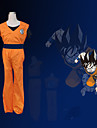 Inspiriert von Dragon Ball Son Goku Anime Cosplay Kostüme Cosplay Kostüme Patchwork Orange Kurze ÄrmelWeste / T-Shirt-Ärmel / Hosen /