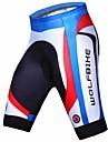 WOLFCykel® Vadderade cykelbyxor Herr Andningsfunktion Snabb tork 3D Tablett Kompression CykelHerr Boxer Vadderade shorts Shorts Byxa