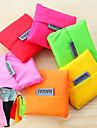 stor kapacitet mode återanvändbar förvaringsshoppingkassar fold-able matkassar toto (slumpvis färg)