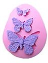 outils papillon moule à cake main de cuisson en silicone décorations pour gâteaux fondants chocolats moule sm-042