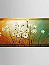 HANDMÅLAD Stilleben / Blommig/BotaniskModerna En panel Kanvas Hang målad oljemålning For Hem-dekoration