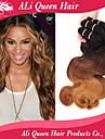 ali drottning hårprodukter 3 ton 1b # / 4 # / 27 # ombre brasilianska jungfru hår vågigt 3st fri frakt