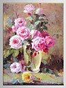 Peint à la main Paysage / A fleurs/BotaniqueModern Un Panneau Toile Peinture à l'huile Hang-peint For Décoration d'intérieur