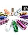 12st Multi-color glitter pulver Nail Art Dekorationer