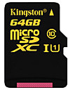 kingston sdca10 64gb klass 10 UHS-I micro SDXC-minneskort