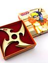 Vapen Inspirerad av Naruto Cosplay Animé Cosplay Accessoarer Svärd / Vapen Svart / Guld Legering Man