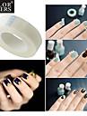 Français Conseils nail art nail art ruban adhésif bout des ongles français 1pc guides outils outils de manucure