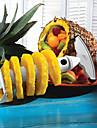frukt rostfritt stål ananas skalare slicer