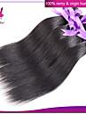 1st indisk jungfru hår indiskt rakt människohår förlängning naturligt svart # 1b färg
