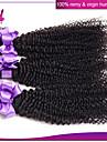 obearbetade malaysiska kinky lockigt jungfruligt hår 4 buntar 100g / st billiga malaysiska kinky lockigt hår 100% människohår väva