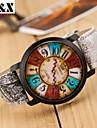 Pentru femei Ceas La Modă Quartz Piele Bandă Multicolor