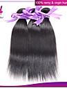 """peruanska jungfru hår rakt hår väva 3 buntar / mycket billig peruanska rakt hår 8 """"-30"""" människohår förlängning"""