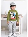 Pantalons Boy Imprimé Eté / Printemps / Automne Mélange de Coton