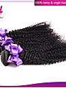 malaysiska kinky lockigt jungfru hår malaysian lockigt hår väva 3st / lot malaysianen jungfruligt hår väver