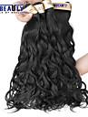 """3 pièces / lot 8 """"-30"""" extensions de cheveux cheveux brésiliens vierges d'onde naturelle 6a 100% non transformés cheveux humains vierges tisse"""
