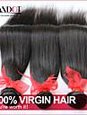 """4 st mycket 8 """"-30"""" brasilianska jungfru rakt hår obearbetade råvaror wefts naturligt svart människohår väva buntar härva gratis"""